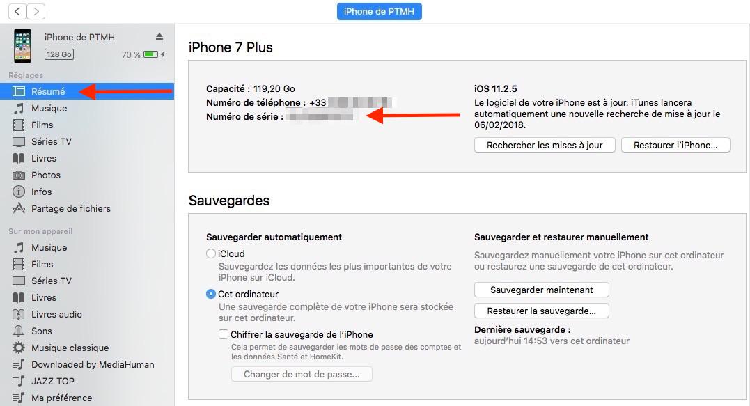 iPhone perdu ou volé