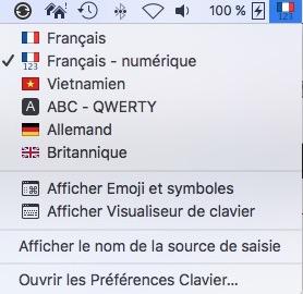 """15 astuces sur Mac à connaître-Clavier """"Français numérique"""""""