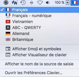 """15 astuces sur Mac à connaître-Clavier """"Français"""""""