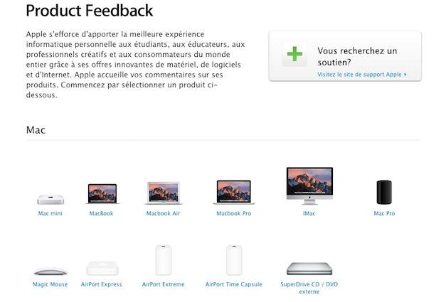 Site Feedback Apple