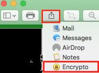 Encrypto sur Aperçu