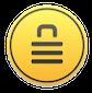 icône encrypto-sécurité des données