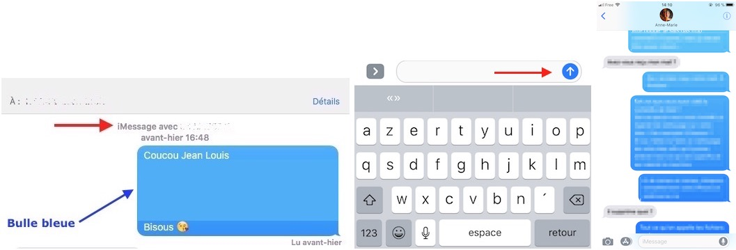 Messages et iMessage-iMessage