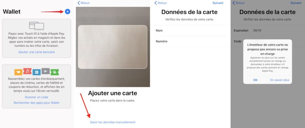 Configurer Apple Pay dans Wallet