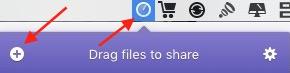 transfert fichiers Instashare
