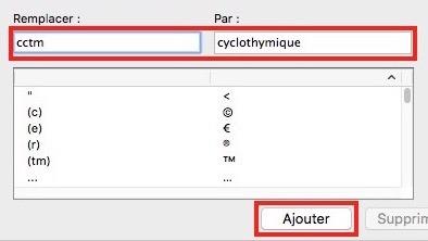 Paramétrages sur Excel-Correction automatique
