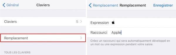 Taper logo  sur iOS-Emplacement