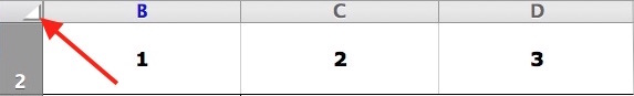 Astuces sur Excel-Triangle