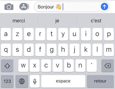 Astuces SMS-Insérer emoji