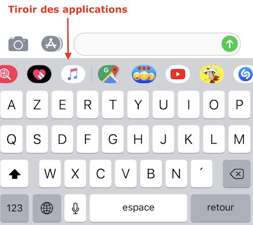 Astuces SMS-Tiroir des applis