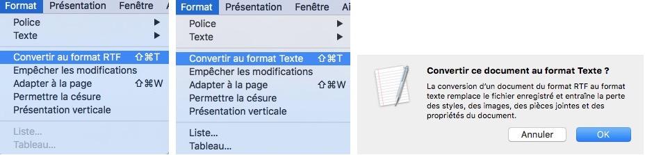 TextEdit-Changer Format