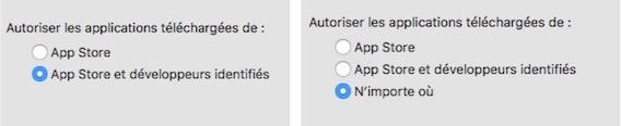 Système de protection du Mac-Avant Après sudo