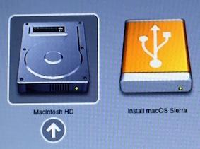 Créer un support bootable-Macintosh HD et support bootable